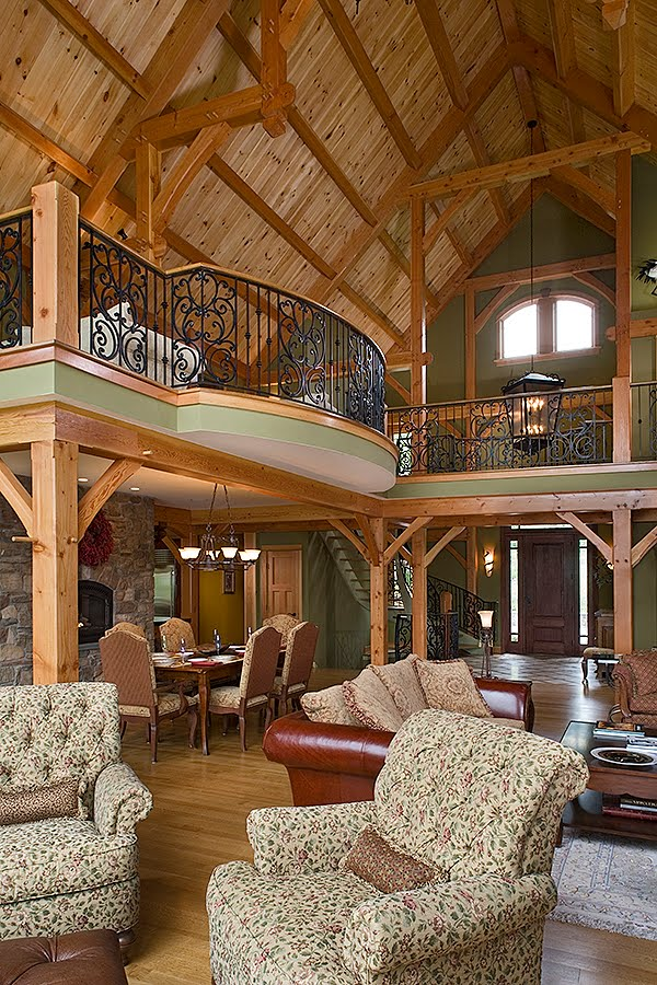 Timber Frame Life Hybrid Timber Frame Homes
