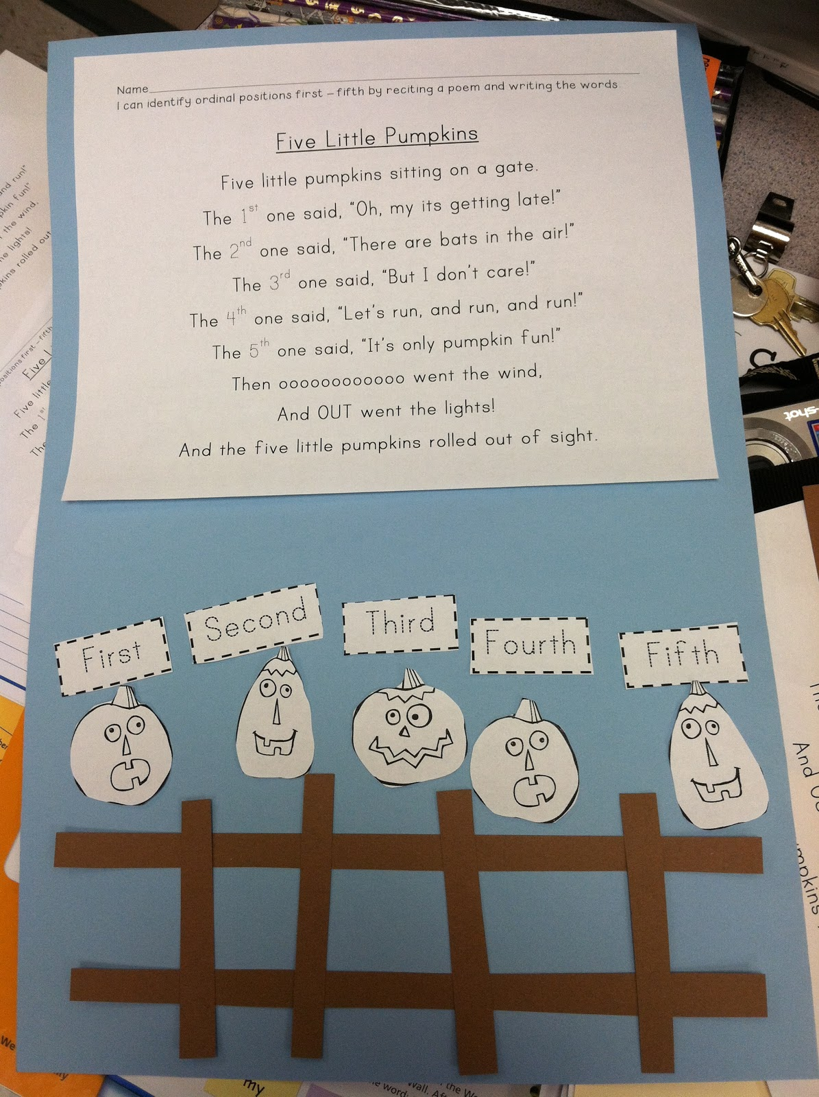The Kinder Garden: Smorgasboard of activities and a Thanksgiving ...