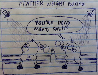 featherweight boxing. you are dead meat.