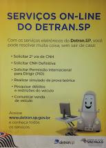 Detran SP - Serviços on line