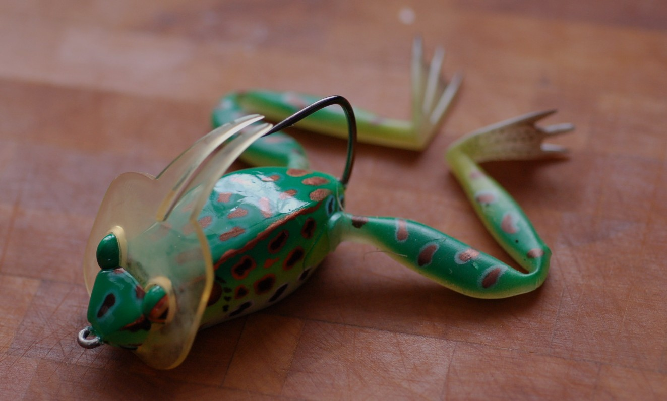 Лягушка для ловли щуки