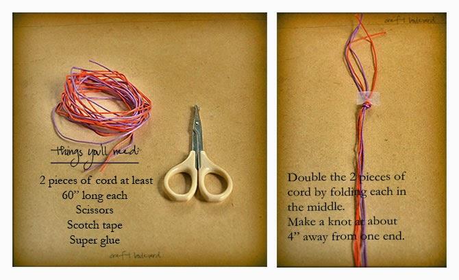 DIY macrame bracelet, josephine knot