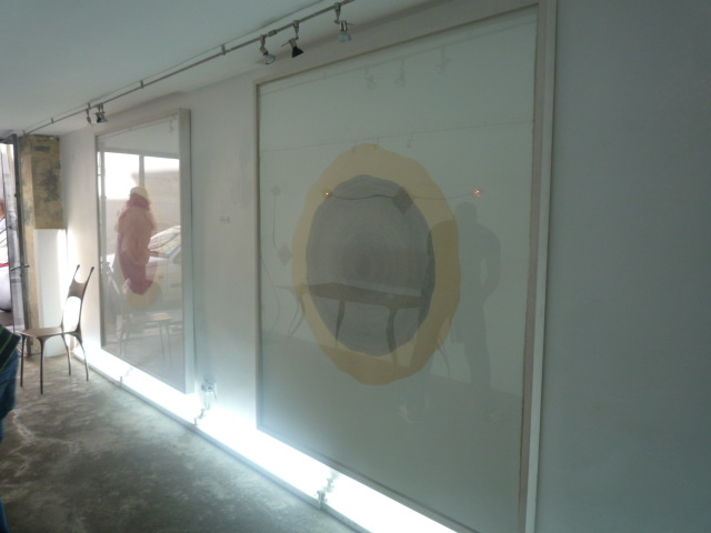 Galerie A.Catzeflis, 23 rue st Roch 75001 Paris, septembre 2011.