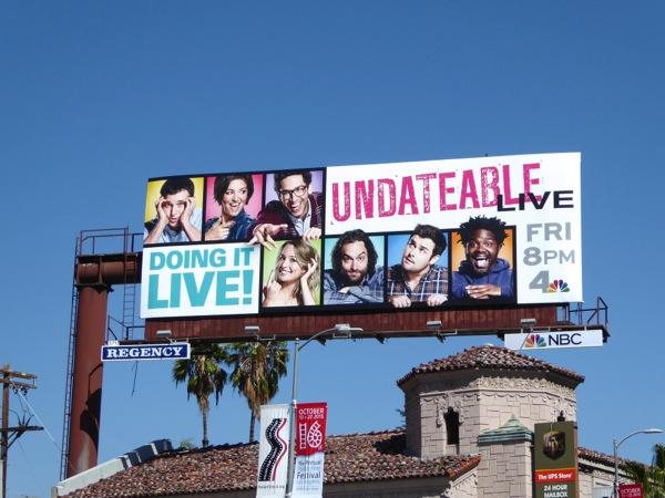 Undateable Live season 3 billboard