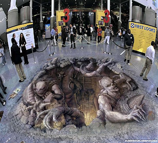 gambar gambar keren 7 Gambar Gambar Keren 3D Street Painting