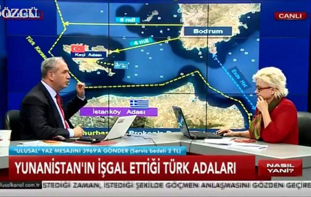 Ο Ουμίτ Γιαλίμ ζητά να δικαστεί για «προδοσία» ο Ερντογάν επειδή άφησε στην Ελλάδα 18 «τουρκικά νησιά»