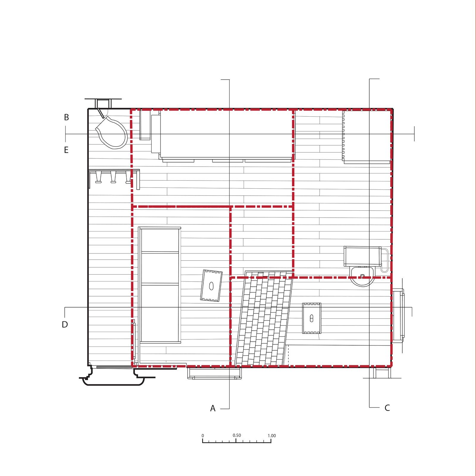 Petit cabanon - Unite d habitation dimensions ...
