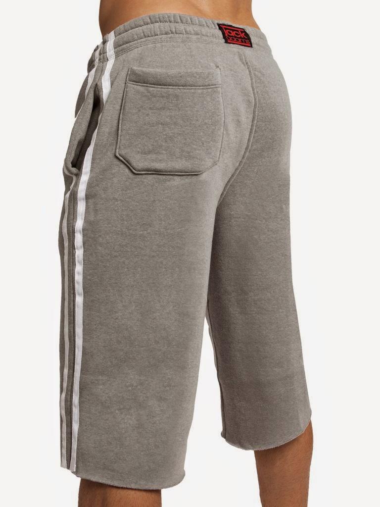 Jack Adams Raw Edge Fleece Pants Heather Grey Gayrado