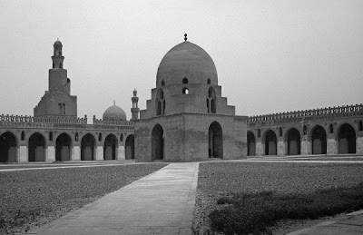 Ahmad Ibn Tulun Mosque , in Cairo. Egypt