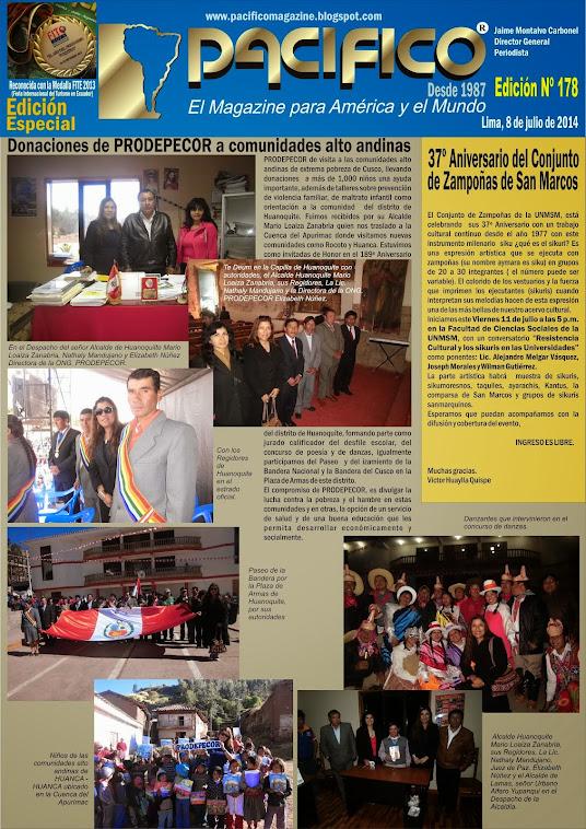 Revista Pacífico Nº 178 Edición Especial
