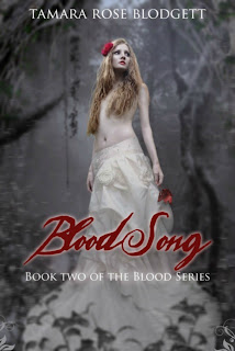 Look at the Cover for Blood Song by Tamara Rose Blodgett