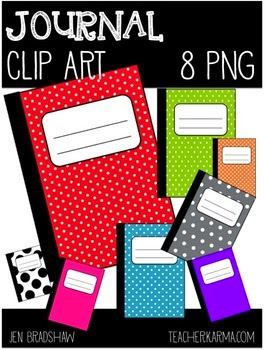 Free Clipart Journal / Notebook by Teacher Karma