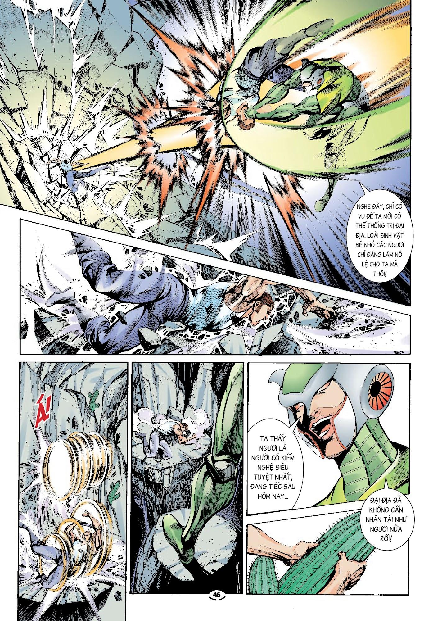Đại Kiếm Sư Chap 32 - Trang 10