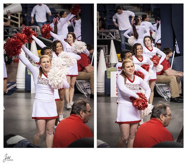 Liberty University Cheerleading UCA College Nationals 2013 Routine