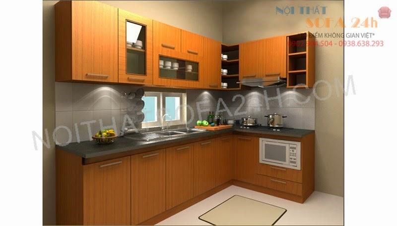 Tủ bếp TB075
