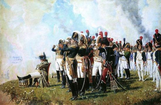 Napoleón en Borodino