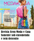 REVISTA AVON MODA E CASA