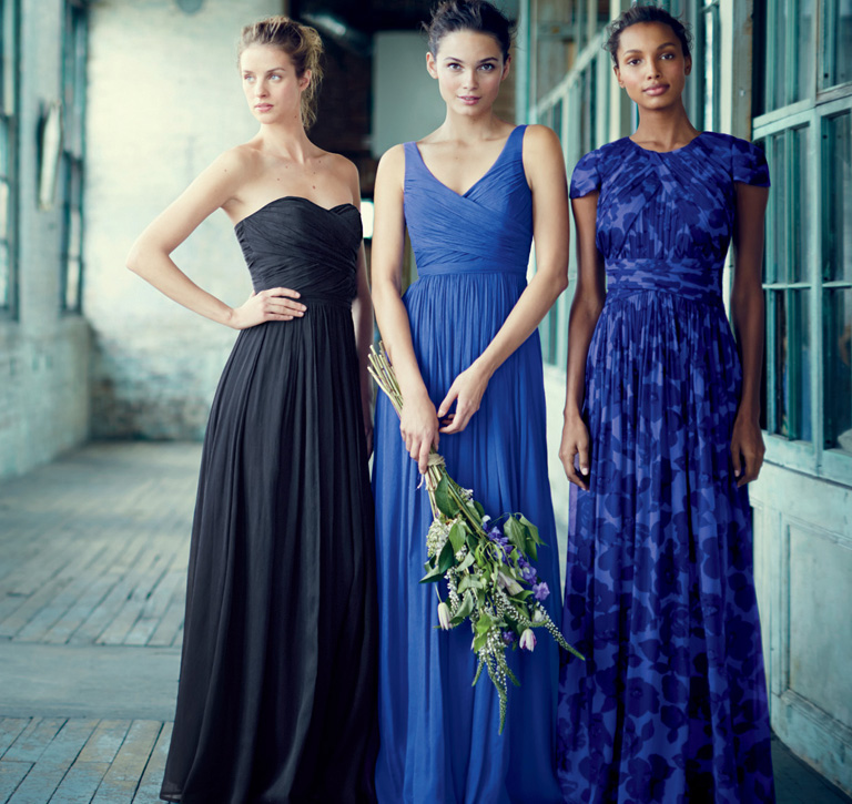 The Arabelle Long Dress And Heidi In Silk Chiffon Collection Dauphine