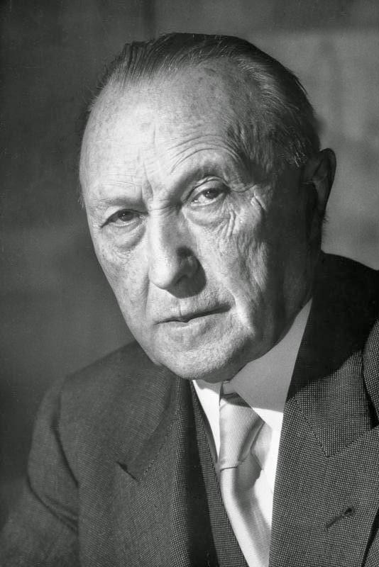 Konrad Adenauer Zitate