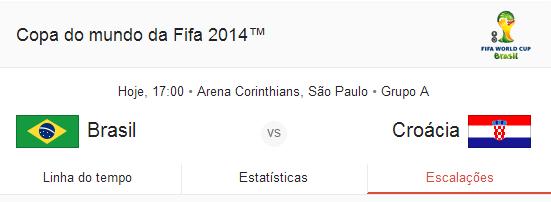 [VÍDEO] Brasil x Croácia 12/06/2014 Melhores Momentos