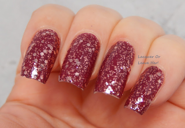 glitter holo nail wrap incoco holiday nail applique