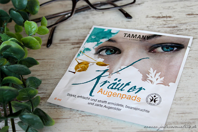 Tamany-Kraeuter-Augenpads