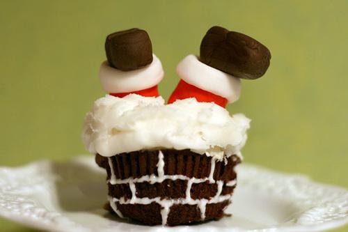 Haha Thats One Funny Cupcake