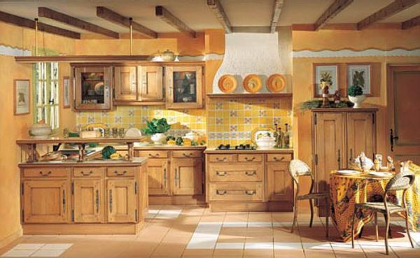 Muebles y decoraci n de interiores cocinas r sticas francesas for Cocinas camperas rusticas
