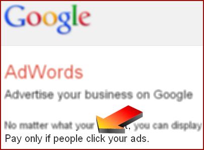 בתמונה: ההבטחה של גוגל למפרסמים - שלמו רק על הקלקות של אנשים