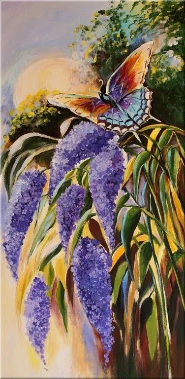 Motyle Na Fotkach W Malarstwie Malarstwo Fotki Muzyka I