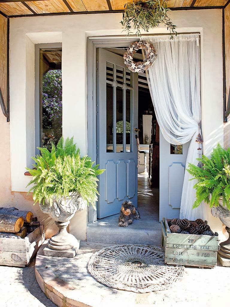 El blog de demarques decoracion provenzal en una casa de for Decoracion casas de campo pequenas