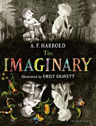 The Imaginary A.F. Harrold book cover
