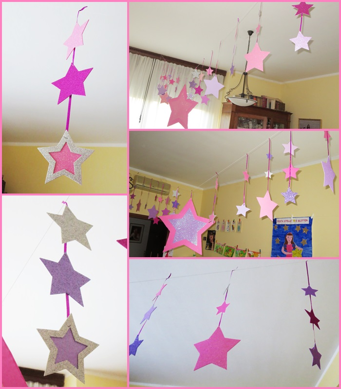 Glitter Sulla Parete : Glitter sulla parete