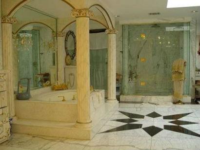 luxury bathroom furniture set
