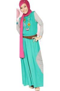 Nuhijab Plain Dress - Baby Tosca (Toko Jilbab dan Busana Muslimah Terbaru)