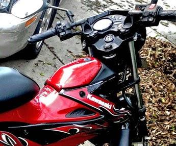 Posisi Berkendara Kawasaki Athlete