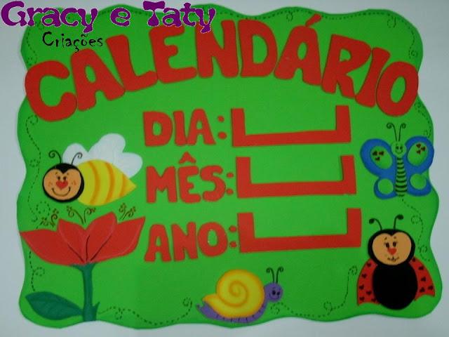 calendário bichinhos