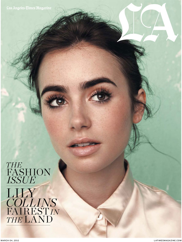 Makeup Inspiration Lily Collins Model