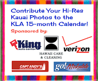 Contribute Your Kauai Photo to KLA Calendar