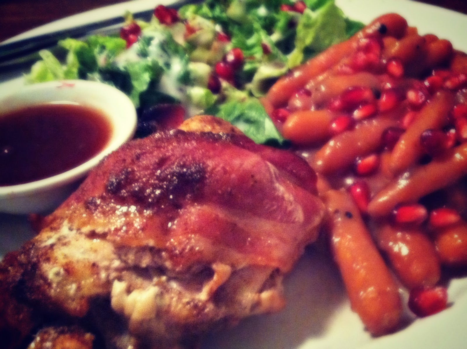 ... Paper Memories: Happenings and Sweet and Spicy BACON Wrapped Chicken