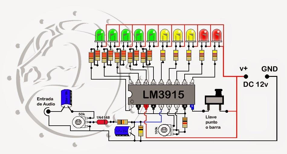 Circuito Vumetro : Vumetros a led descubre los secretos de un armado exitoso