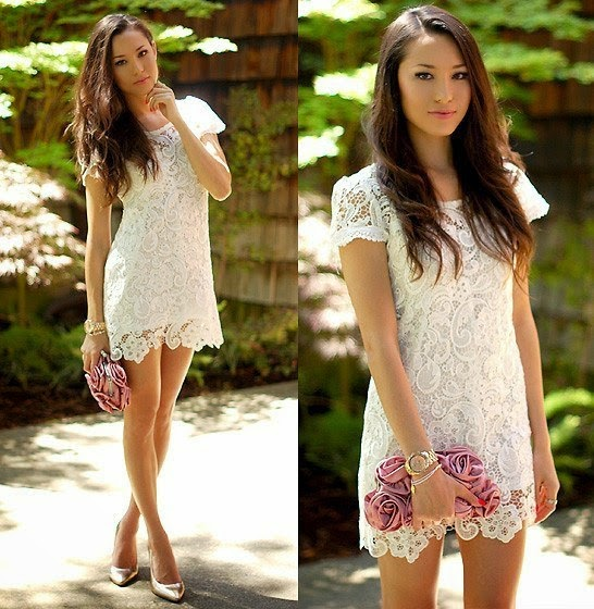 Короткие платья на лето