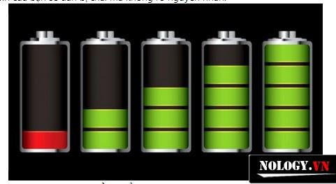 Các  nấc dung lượng pin của LG Optimus GK