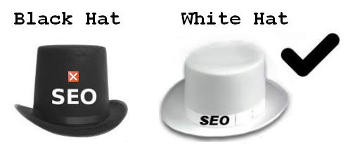 O que é white hat SEO vs Black hat SEO