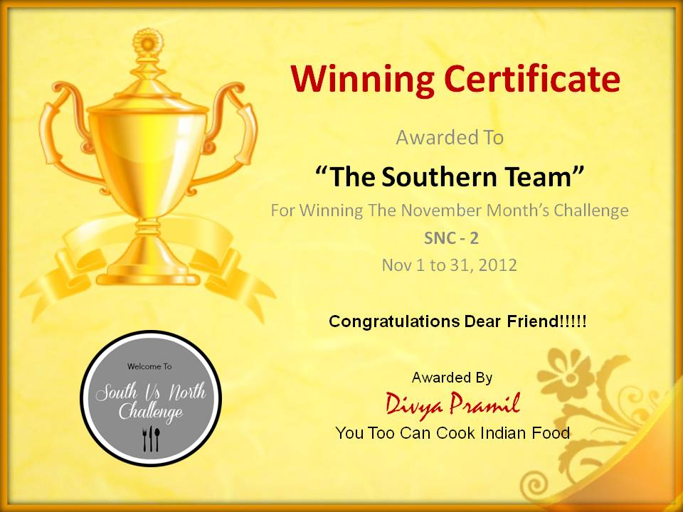 winner certificate templates certificate for the winning team you want ...