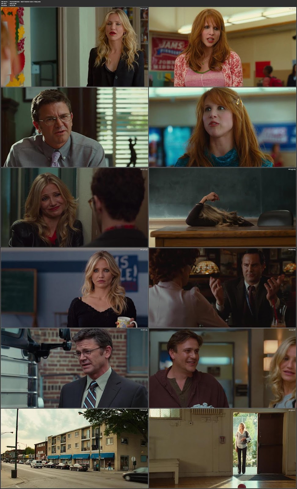 Bad Teacher 2011 Dual Audio Hindi Movie BluRay 720p