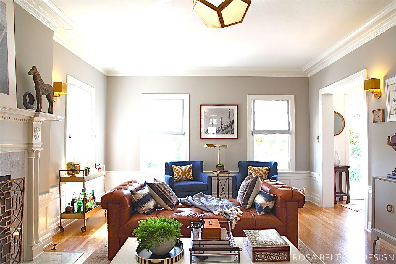 Rosa Beltran Design: COLONIAL HOUSE TOUR FINALE: THE LIVING ROOM!