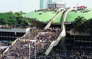 Pendudukan Gedung DPR/MPR Mahasiswa 1998