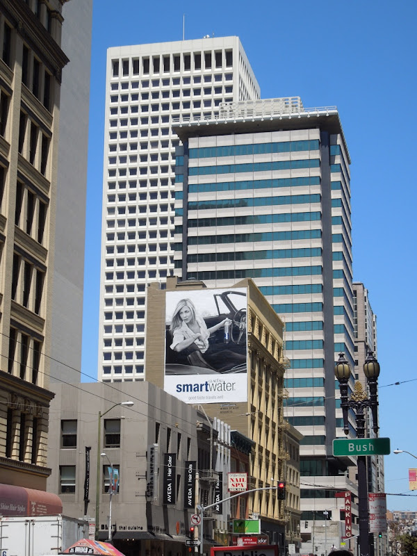 Smart Water billboard San Francisco