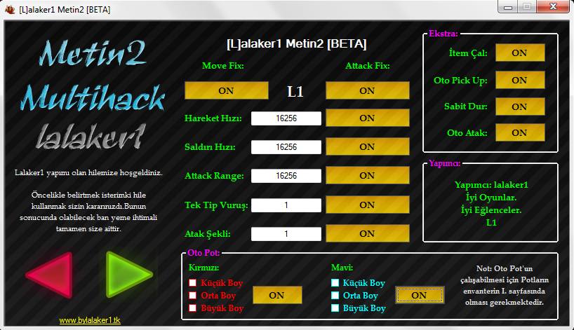 Metin2 Tr Multihack Hile Botu Fix Versiyonu indir – Download